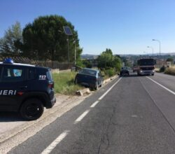 incidente-pietrelcina-malore-contro-muretto